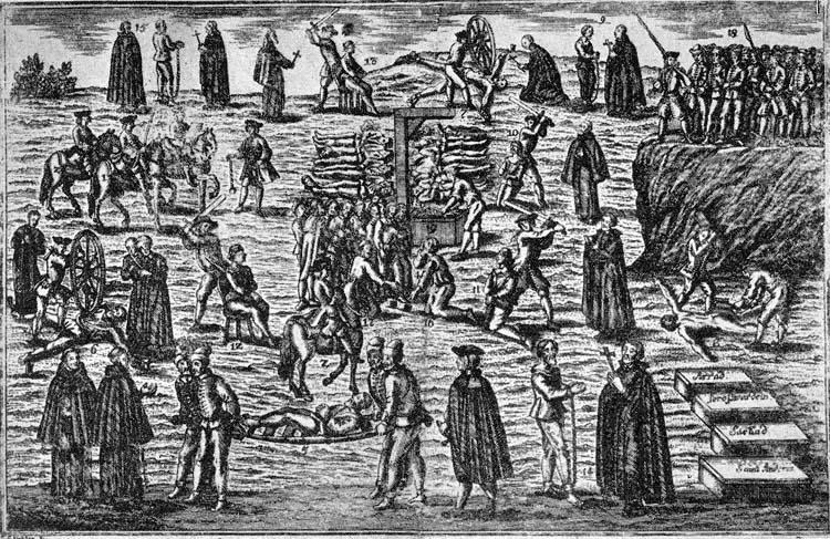 Szegedinecz Pero és társai kivégzése 1736 április 4-én